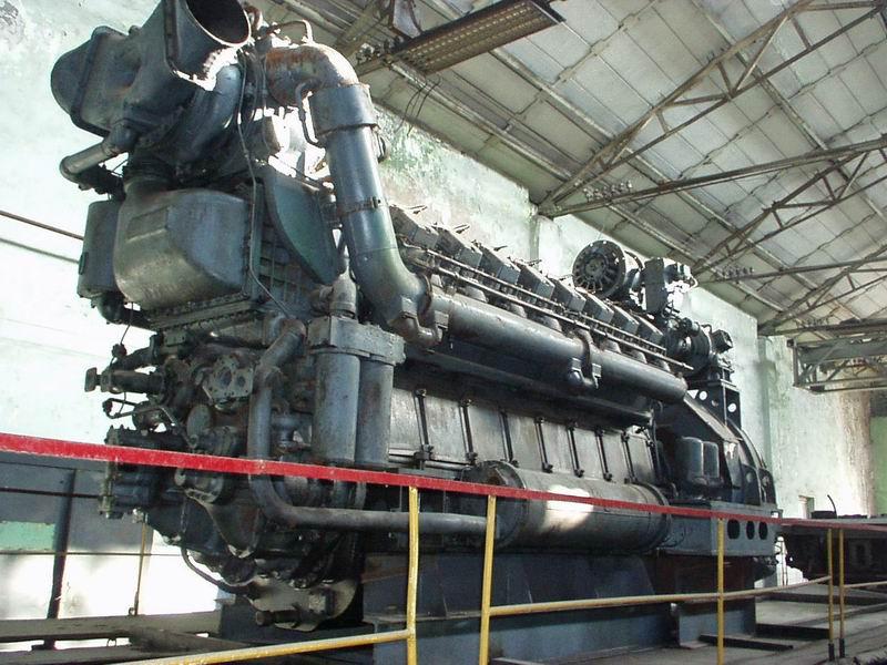 генератор от тепловоза